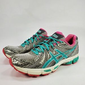 ASICS GEL EXALT 3 Running Athletic Shoes Grey Teal